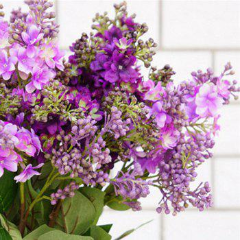 XM High Simulation Lilac Home Decoration Artificial Flower 70CM - PURPLE