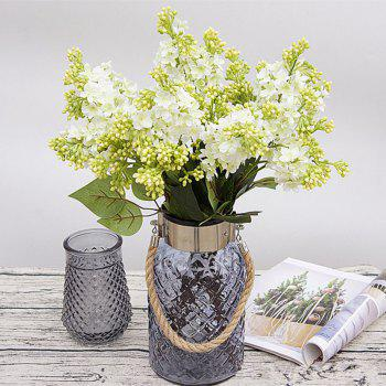 XM High Simulation Lilac Home Decoration Artificial Flower 70CM - WHITE