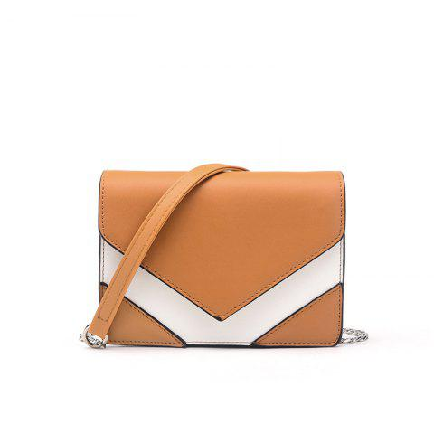 Sac à bandoulière simple épaule Cross-bag Simple Mini Sac frais - Brun