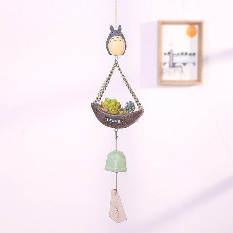 744 1PCS Creative Guardian Ange Vent Bell - Gris WITH MORE MEAT