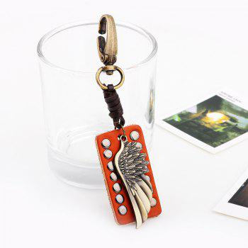 The Wings of The Angel Pendant Key Chain -  GOLD