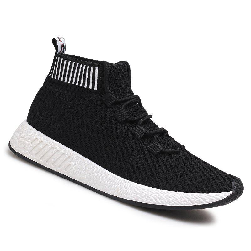 Air Mesh Super Light Casual Fashion Shoes - BLACK 42