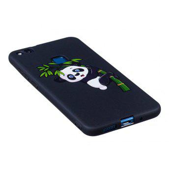 Embossed Painted TPU Phone Case for Huawei P10 Lite - BLACK/GREEN