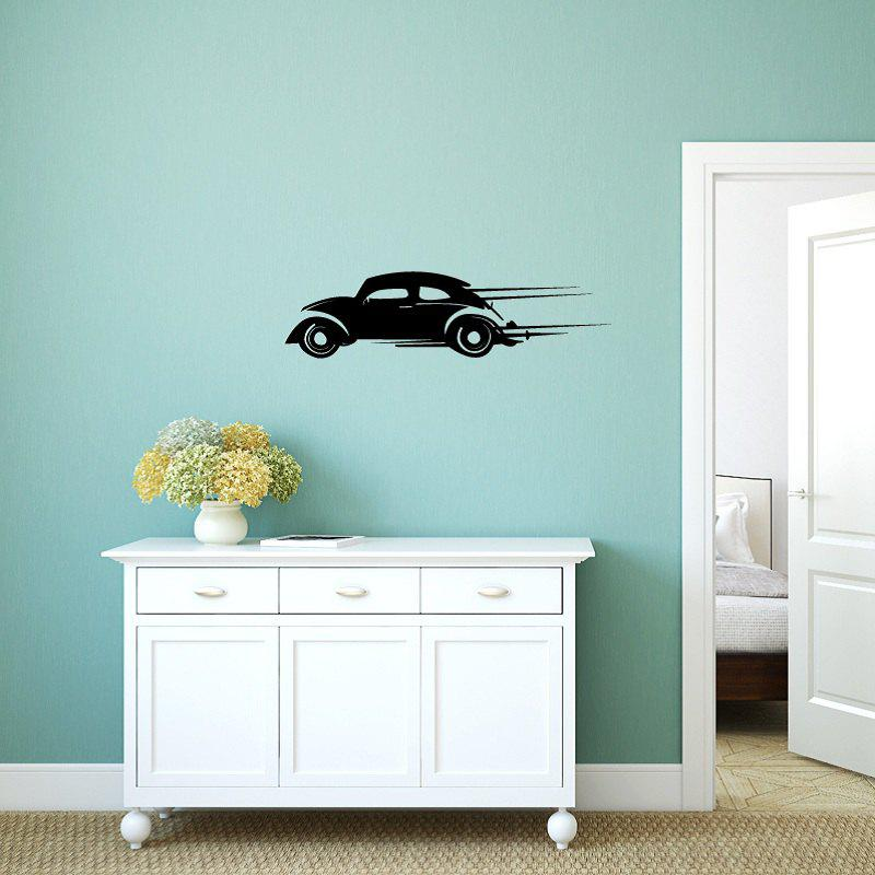 DSU Speeding Car Simple Art Wall Stickers