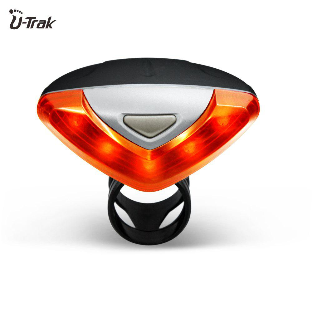 Mountain Bike Safety Feature Supper Bright Rear Tail Light Easy Installation Waterproof Led Bicycle Light - RED/BLACK