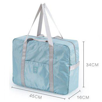 Foldable Travel Bag Luggage Bag Pants Women'S Trolley Bag Portable Light Fitness Kit Short-Distance Travel Bag Male Large Capacity - CORNFLOWER