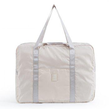 Foldable Travel Bag Luggage Bag Pants Women'S Trolley Bag Portable Light Fitness Kit Short-Distance Travel Bag Male Large Capacity - BEIGE BEIGE