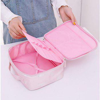 Travel Storage Bag Portable Durable Large Capacity Makeup Bag - GRAY