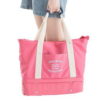 Storage Bag Large Capacity Multi Fuction Clothes Container Travelling Bag - WATERMELON RED WATERMELON RED