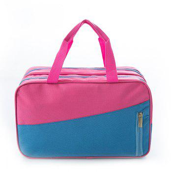 Sac à main pour femme All Match Chic Patch Nylon Color Block Sac à main