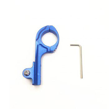 Bicycle Bracket Q Shape 3cm Diameter Bike Suport for Sports Camera -  BLUE