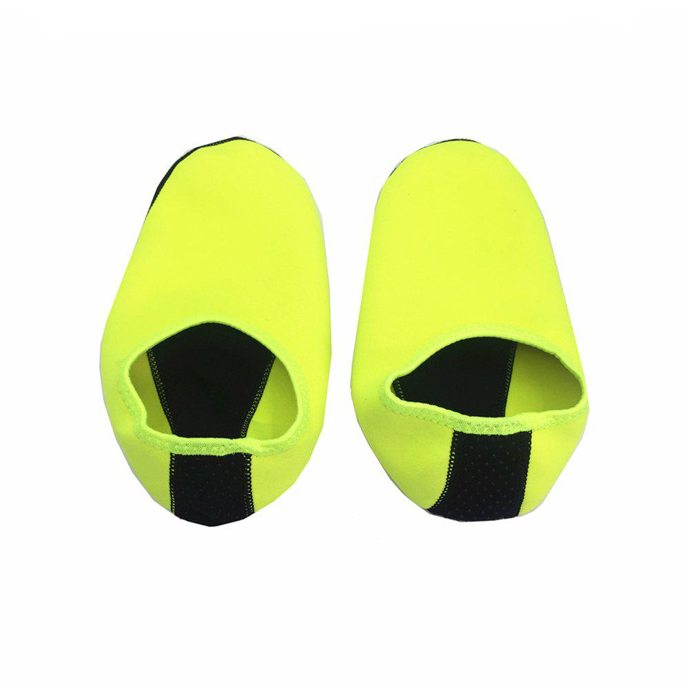 Pair of Unisex Anti-Slip Socks for Outdoor Beach Diving - GREEN SIZE(44-45)