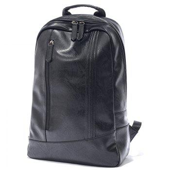 Portable Fashionable Men PU Backpack