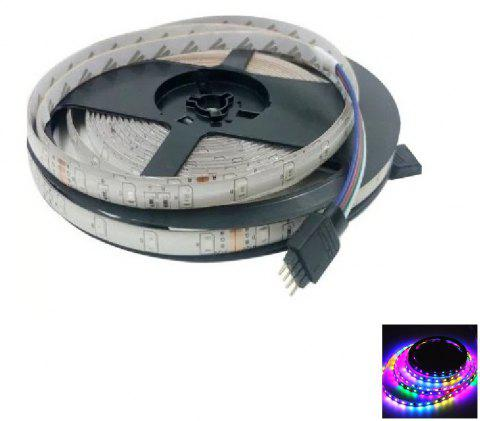 1PC 5M 16.4FT Flexible RGB LED Strip Light 300SMD 3528 Waterproof DC5V - RGB COLOR