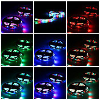 ZDM 5M 24W Waterproof RGB Light LED Strip Light with IR Remote Controller DC12V - RGB COLOR ( KEYS)