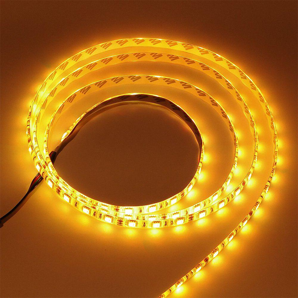 ZDM 1M DC 12V 15W 60 x 5050 SMD Light LED Strip - YELLOW LIGHT