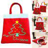 Creative Christmas Tree Pattern Santa Claus Candy Bag Handbag Home Party Decoration Gift Bag Christmas Supplie Free Shipping - FLAME
