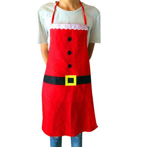 ws cooking apron kitchen tools set hot selling sleeveless cloth retro apron christmas aprons for wommen - Christmas Apron