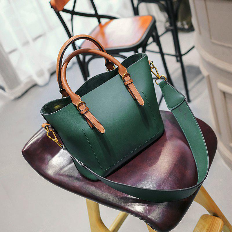 2017 New Fashion Women's Handbag with A Single Shoulder Bag - GREEN