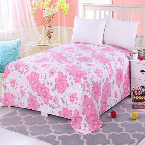 Cotton Bed Sheet - PINK