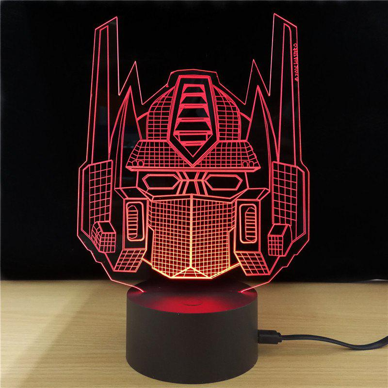 M.Sparkling TD231 Creative Superhero 3D LED Lamp m sparkling td303 creative cartoon 3d led lamp