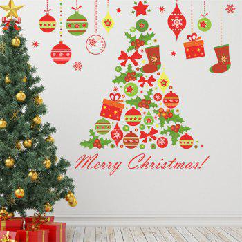 Christmas Tree Wall Sticker for Home Decoration - COLORMIX COLORMIX