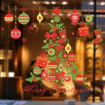 Christmas Tree Wall Sticker for Home Decoration -  COLORMIX