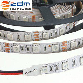 ZDM 5M 72W LED Plant Light Strip 300PCS 5050 5 Red 1 Blue / Group DC 12V - RED/BLUE
