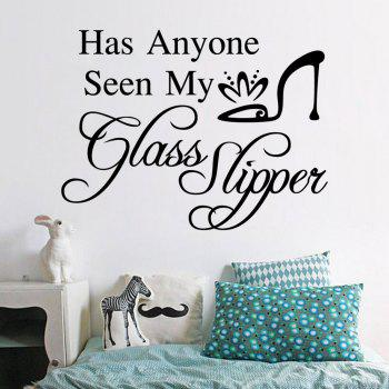 Has Anyone Seen My Glass Slipper - BLACK BLACK