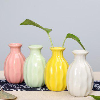 790 1PCS Creative Ceramic Vase Home Tableware -  GREEN