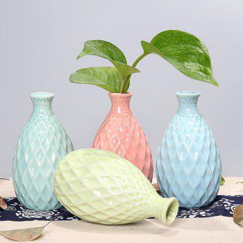791 1PCS Creative Ceramic Vase Simple Home Tableware - GREEN
