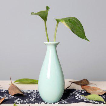 792 1PCS Creative Simple Ceramic Vase Tableware - LIGHT BLUE LIGHT BLUE