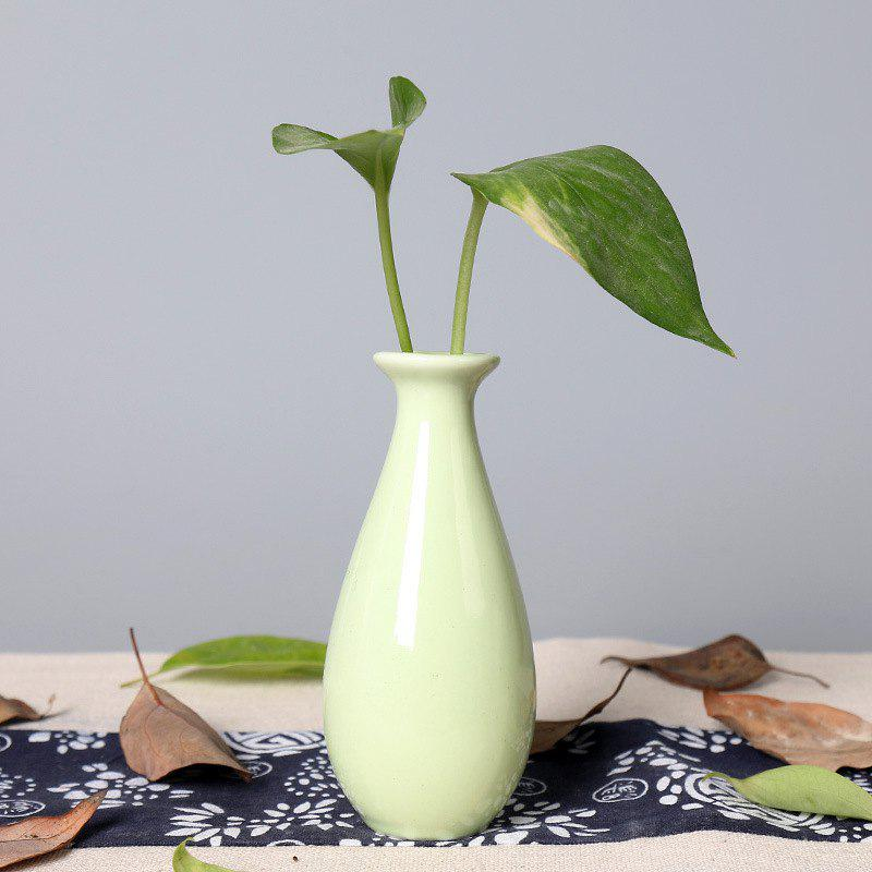 792 1PCS Creative Simple Ceramic Vase Tableware - GREEN