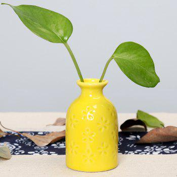 794 1PCS Household Tableware Ceramic Aromatherapy Bottle - YELLOW YELLOW