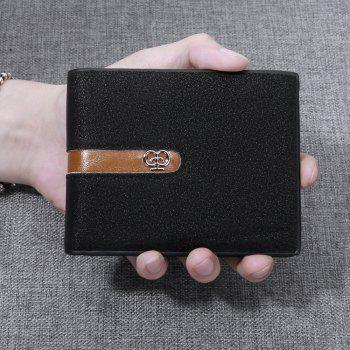 JPT-1031 Men'S Wallet Business Fashion Short Hinge with Multi Card Wallet