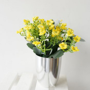 Lmdec 17XXF01  Artificial Star  Flower - YELLOW