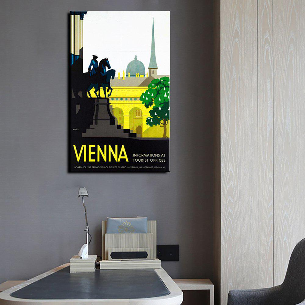 2018 YHHP Canvas Print Pop Art Poster Vienna Wall Decor for Home ...