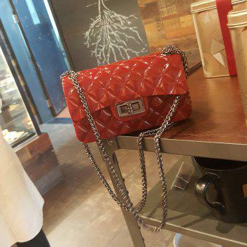 2017 New Jelly Small Sweet Wind Cross Bag Female - RED