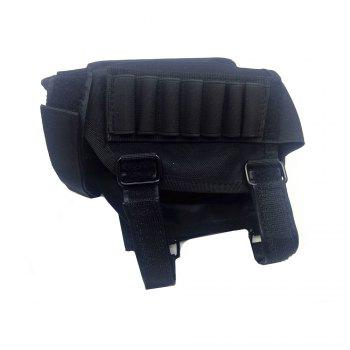Nylon Buttstock Cover with Sponge Cheek Rest Pad / 7-hole Pouch