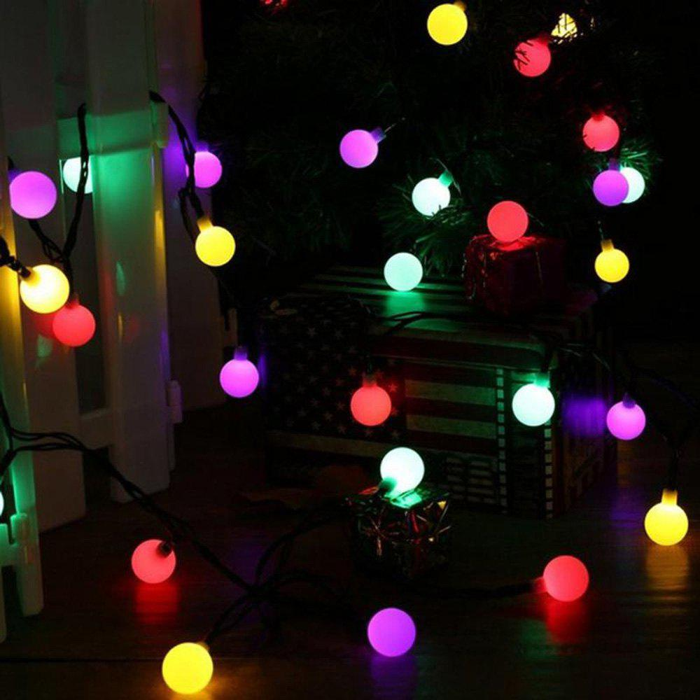 jiawen christmas lights string 5m 50 leds rgb holiday ball light ac 110v colorful us
