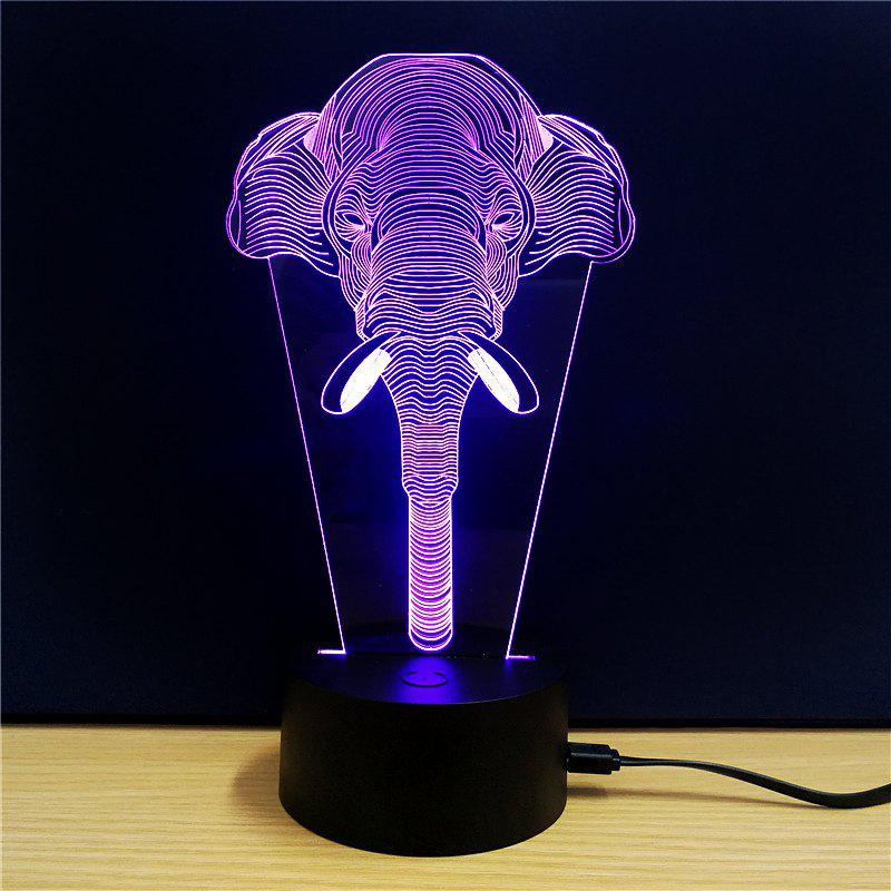 M.Sparkling TD118 Creative Animal 3D LED Lamp m sparkling td303 creative cartoon 3d led lamp