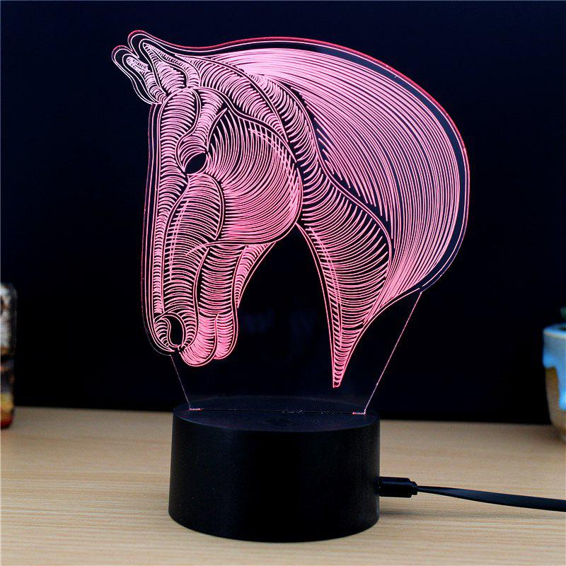M.Sparkling TD134 Creative Animal 3D LED Lamp m sparkling td303 creative cartoon 3d led lamp