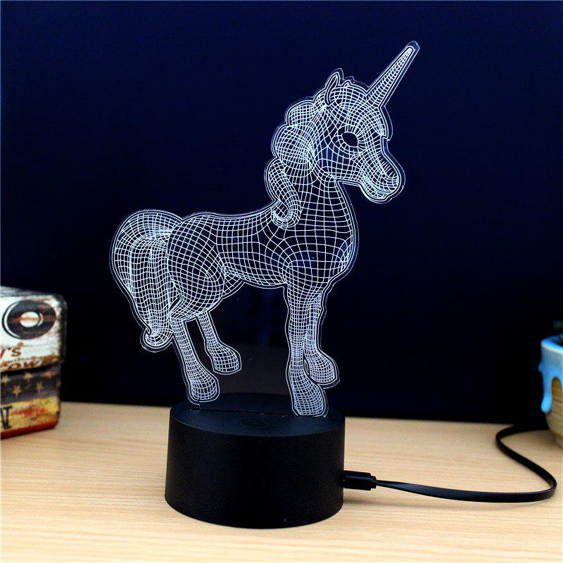 M.Sparkling TD261 Creative Animal 3D LED Lamp - COLORFUL