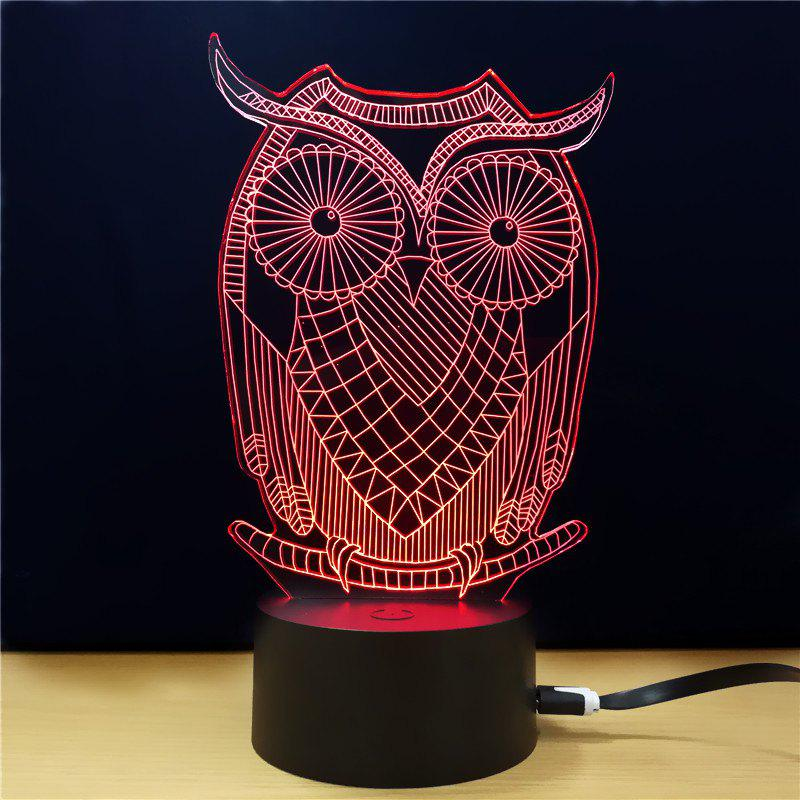 M.Sparkling TD285 Creative Animal 3D LED Lamp m sparkling td303 creative cartoon 3d led lamp