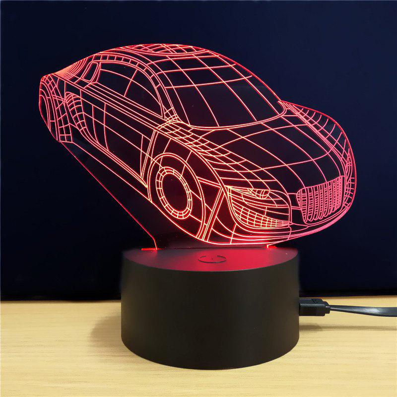 M.Sparkling TD071 Creative Car 3D LED Lamp m sparkling td303 creative cartoon 3d led lamp