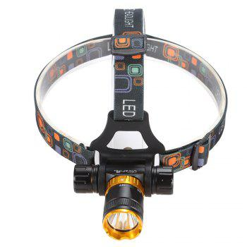 Ultrafire D07 Cree Xml-T6 600LM  Lampe Frontale à 5 Positions - [