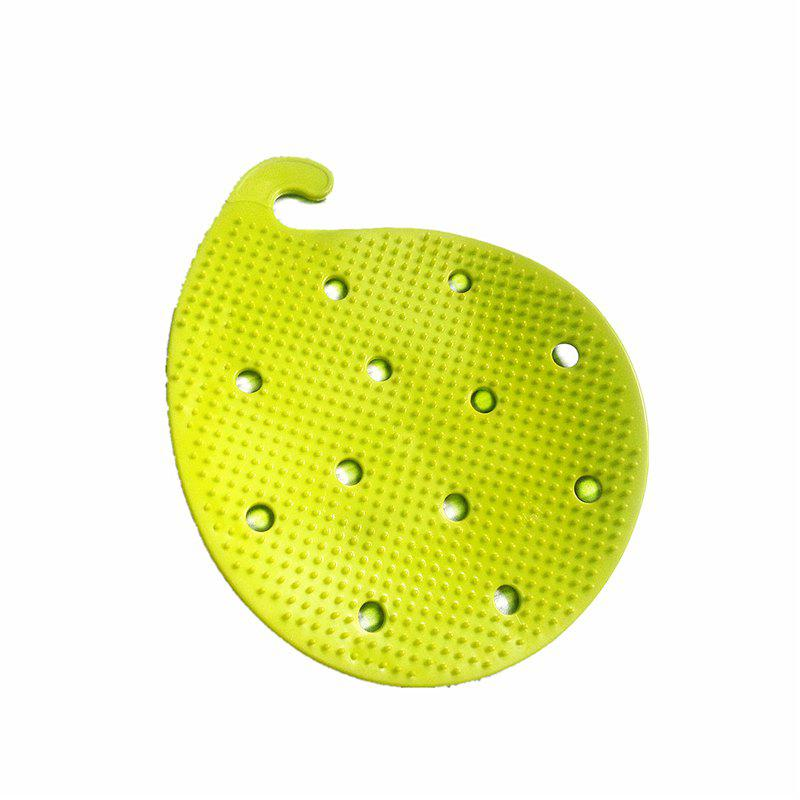 Multi-functional Fruit and Vegetable Cleaning Insulation Mat - GREEN