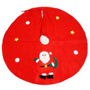 XM Christmas Tree Apron Decoration Diameter 90CM Random Style 1pc - RED RED