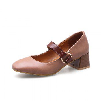 England Fashion Restoring Ancient Ways Shoes - PINK 35