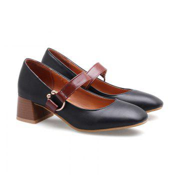 England Fashion Restoring Ancient Ways Shoes - BLACK 38
